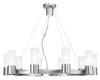 Livex Lighting Midtown  Brushed Nickel Chandelier 50699-91