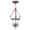 Livex Lighting Jefferson Vintage Bronze Chain Lantern  5083-70