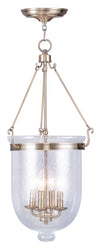 Livex Lighting Jefferson Antique Brass Chain Lantern  5085-01