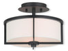 Livex Lighting Wesley Bronze Ceiling Mount 51072-07
