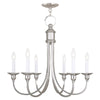 Livex Lighting Cranford Polished Nickel Chandelier 5146-35