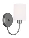 Livex Lighting Sussex Brushed Nickel Wall Sconce 5261-91