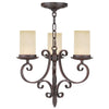 Livex Lighting Millburn Manor Imperial Bronze Mini Chandelier 5483-58