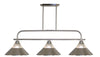 Z-Lite Annora 437-3BN-RBN Island/Billiard Light