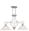 Livex Lighting Coronado Brushed Nickel Island 6132-91