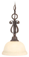 Livex Lighting Manchester Imperial Bronze Mini Pendant 6150-58