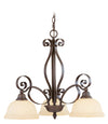 Livex Lighting Manchester Imperial Bronze Chandelier 6153-58