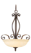 Livex Lighting Manchester Imperial Bronze Inverted Pendant 6168-58