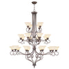Livex Lighting Coronado Imperial Bronze Chandelier 6189-58