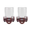 Horse Shoe Set of 2 Hurricanes