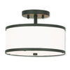 Livex Lighting Park Ridge Bronze Ceiling Mount 62626-07