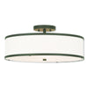 Livex Lighting Park Ridge Bronze Ceiling Mount 62629-07