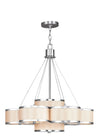 Livex Lighting Park Ridge Brushed Nickel Chandelier 6346-91