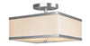 Livex Lighting Park Ridge Brushed Nickel Ceiling Mount 6347-91