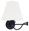 Livex Lighting Ridgedale Black Swing Arm Wall Lamp 6471-04