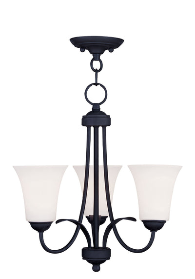 Livex Lighting Ridgedale Black Convertible Chain Hang/Ceiling Mount 6473-04