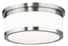 Livex Lighting Stafford Brushed Nickel Ceiling Mount 65503-91