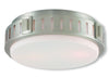 Livex Lighting Portland Brushed Nickel Ceiling Mount 65511-91