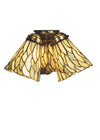 "Meyda 5""W Willow Jadestone Fan Light Shade"