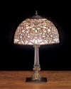 "Meyda 19""H Jade Scroll Accent Lamp"