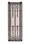 "Meyda 11""W X 30""H Spear Of Hastings Stained Glass Window"
