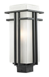 Z-Lite Abbey 549PHB-BK Outdoor Light