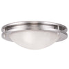 Livex Lighting Ariel Brushed Nickel Ceiling Mount 7057-91