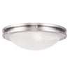 Livex Lighting Ariel Brushed Nickel Ceiling Mount 7059-91
