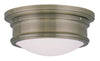 Livex Lighting Astor Antique Brass Ceiling Mount 7341-01