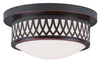 Livex Lighting Westfield Olde Bronze Ceiling Mount 7351-67