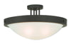 Livex Lighting New Brighton Bronze Ceiling Mount 73957-07