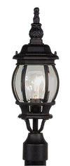 Livex Lighting Frontenac Black Outdoor Post Lantern 7522-04