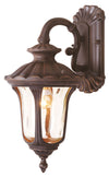 Livex Lighting Oxford Imperial Bronze Outdoor Wall Lantern 7651-58