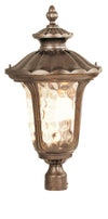 Livex Lighting Oxford Moroccan Gold Outdoor Post Lantern 7664-50