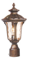 Livex Lighting Oxford Moroccan Gold Outdoor Post Lantern 7667-50