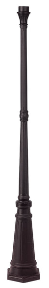 Livex Lighting Outdoor Bronze Outdoor Cast Aluminum Post 7709-07