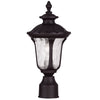 Livex Lighting Oxford Bronze Outdoor Post Lantern 7848-07