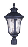 Livex Lighting Oxford Black Outdoor Post Lantern 7859-04