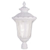 Livex Lighting Oxford White  Outdoor Post Lantern 7864-03