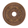Livex Lighting Ceiling Medallions Crackled Greek Bronze Ceiling Medallion 8200-30