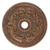 Livex Lighting Ceiling Medallions Crackled Greek Bronze Ceiling Medallion 8210-30