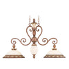 Livex Lighting Savannah Venetian Patina Island 8472-57