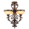 Livex Lighting Seville Palacial Bronze with Gilded Accents Chandelier 8524-64
