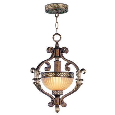 Livex Lighting Seville Palacial Bronze with Gilded Accents Hall/Foyer 8530-64