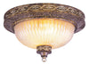 Livex Lighting Seville Palacial Bronze with Gilded Accents Ceiling Mount 8543-64