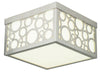 Livex Lighting Avalon Brushed Nickel Ceiling Mount 86792-91