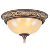 Livex Lighting Pomplano Palacial Bronze with Gilded Accents Ceiling Mount 8858-64