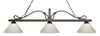 Z-Lite Melrose 114-3GB-PWH Island/Billiard Light