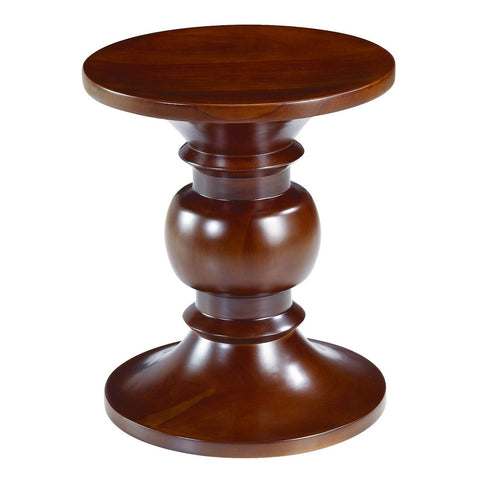 Fine Mod Imports Walnut Stool Style B, Walnut - Sky Home Decor