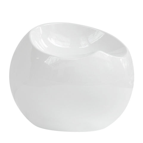Fine Mod Imports Dewdrop Stool, White - Sky Home Decor
